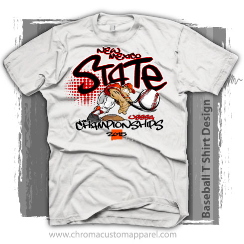 State Baseball Championships Shirt Design - Customizable