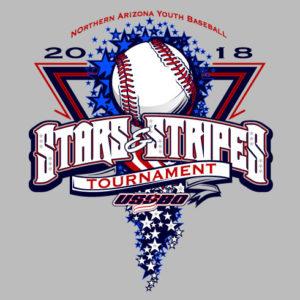 July 4th Baseball Design