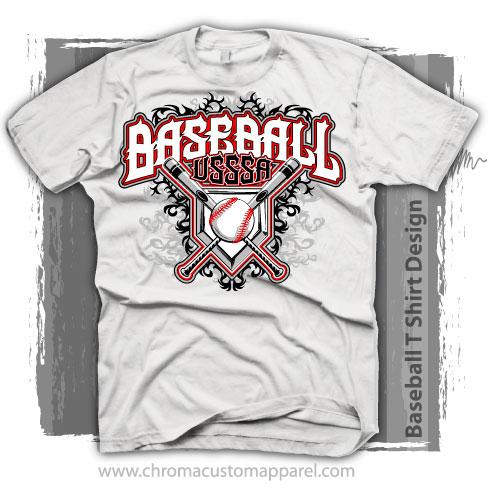 Baseball Tournament Shirt Design - Customized for Printing
