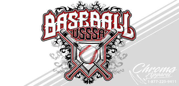Baseball Tournament Shirt Design - Customized for Printing