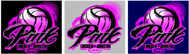 Dig Pink Volleyball T-Shirt Design