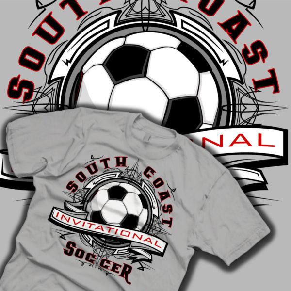 Soccer Tribal Shirt Comp
