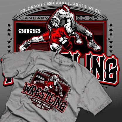 State Wrestling Shirt Design | Shirt