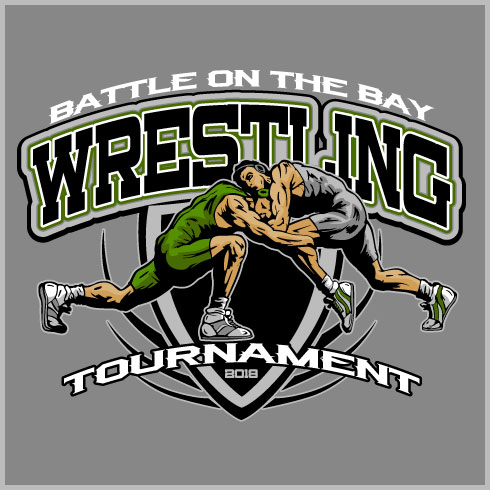 High School Wrestling T Shirt Designs