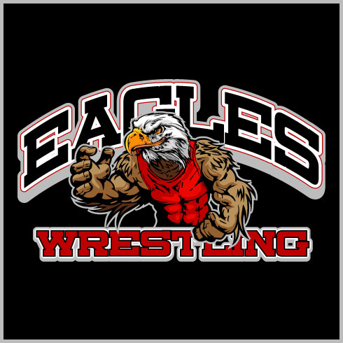 Eagle Wrestling Shirt Custom T Shirt Designs