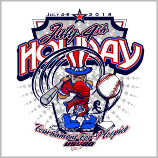Uncle Sam Baseball Design
