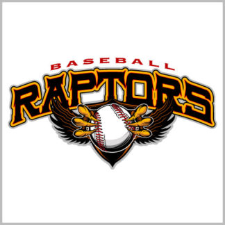 Custom Shirt Designs | Raptors Baseball Shirt