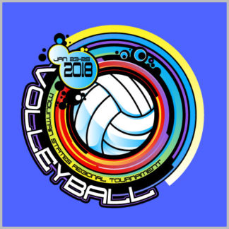 Volleyball Shirt Design