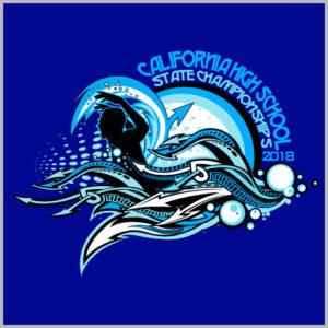Custom T Shirt Designs | Swimming State