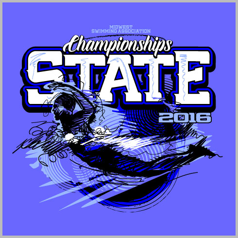state swimming shirt with swimmer and sketch design elements clip art labor day bbq clip art labor day free