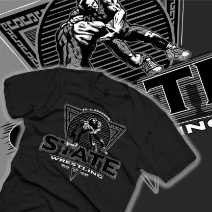 State Wrestling Shirt