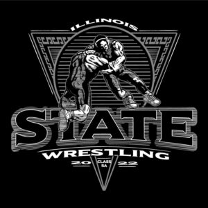 State Wrestling Shirt Design