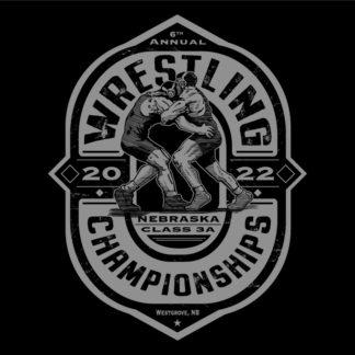Wrestling Championships Shirt Design