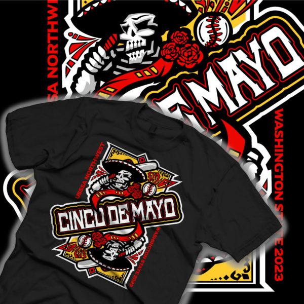 Cinco De Mayo Baseball Design Comp