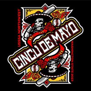 Cinco De Mayo Baseball Design