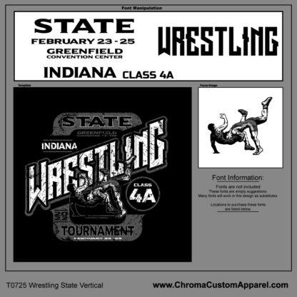State Wrestling Design Template