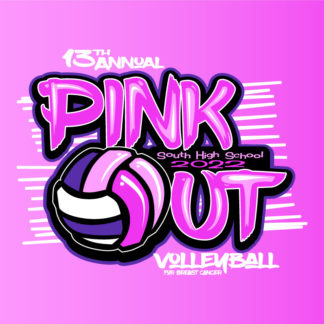 Volleyball Pink Out