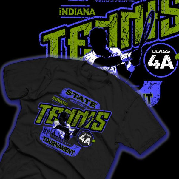 State Tennis Shirt Comp