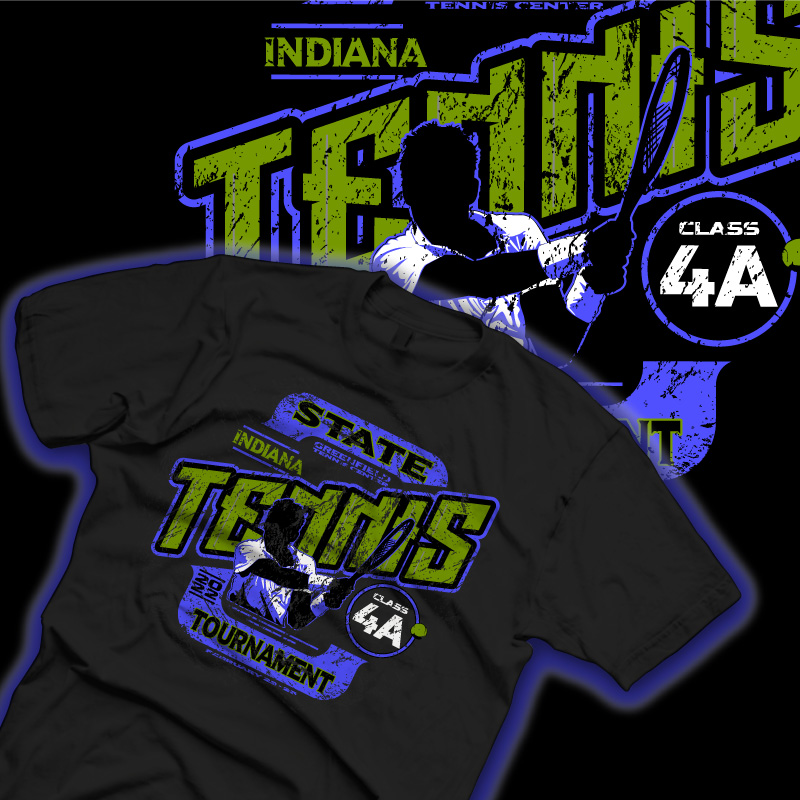 State Tennis Shirt Comp