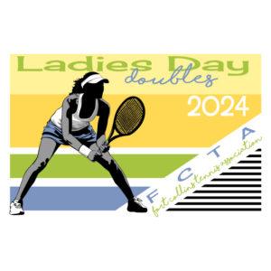 Tennis Shirt Ladies Day - Design