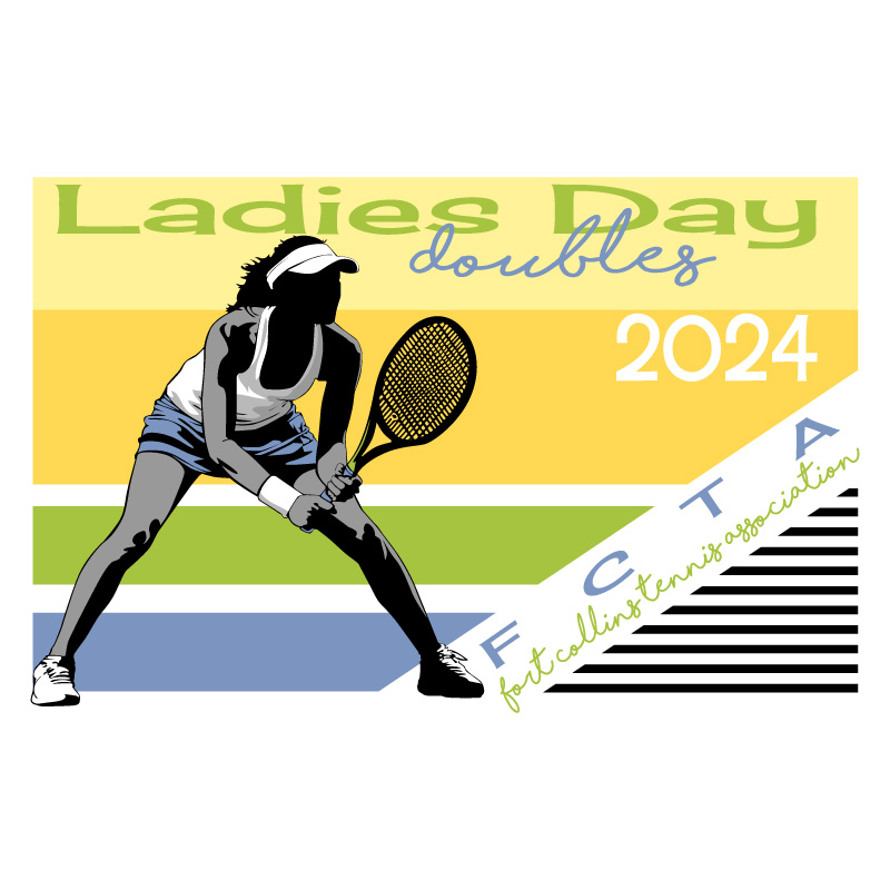 Tennis Shirt Ladies Day - Design
