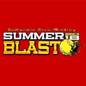 Tennis Shirt Design Blast
