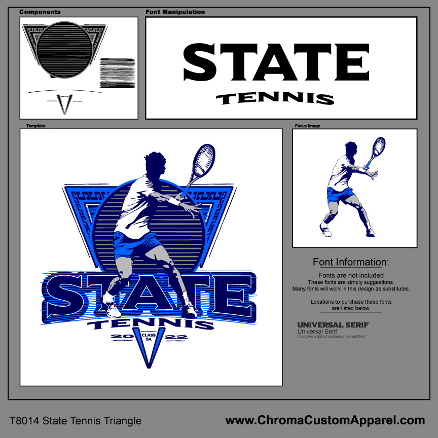 Tennis State Design Template