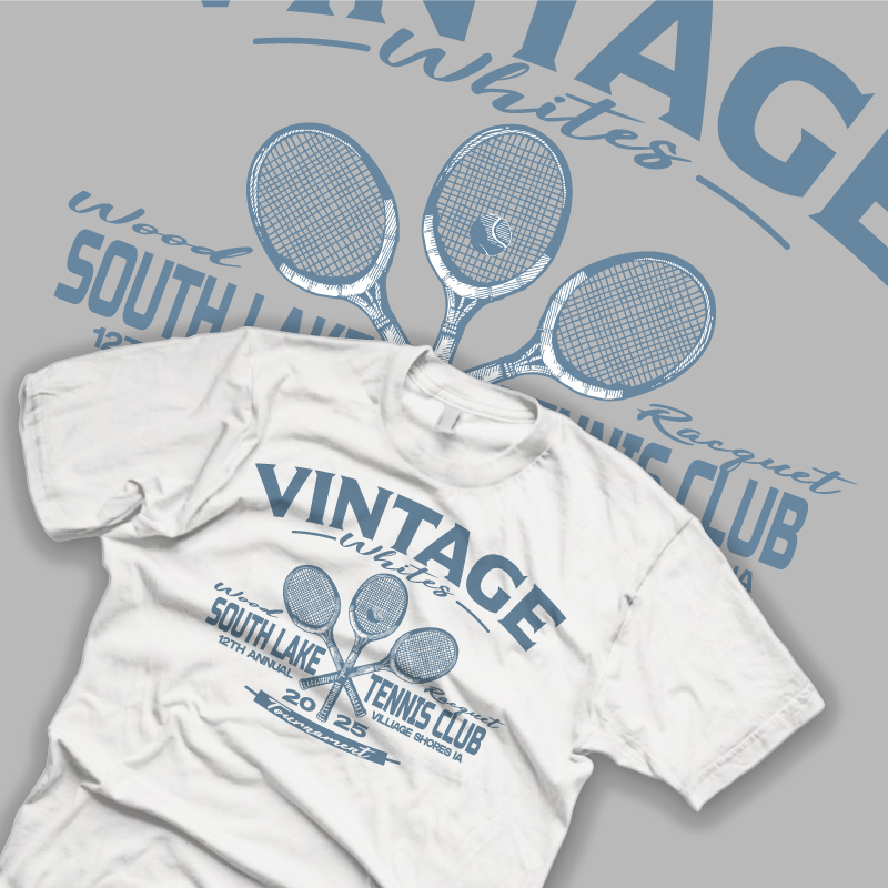 Vintage Tennis Shirt - Comp